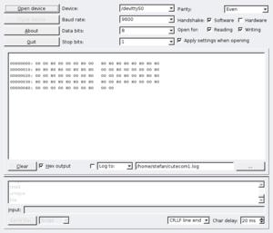 Serial console - coreboot